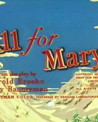 Main title from All for Mary (1955) (3)