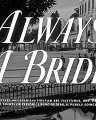 Main title from Always a Bride (1953) (4)