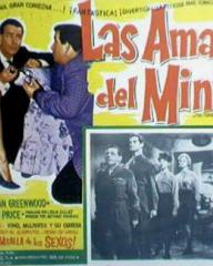 Mexican lobby card from The Amorous Prawn (1962) (1)
