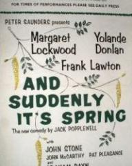 Programme from And Suddenly It's Spring (1959) at the Duke of York's Theatre, London (1)