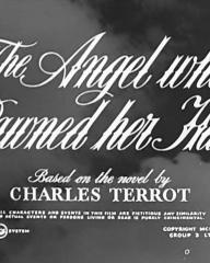 Main title from The Angel Who Pawned Her Harp (1954) (4).   Based on the novel by Charles Terrot