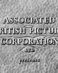 Main title from Angels One Five (1952) (1).  Associated British Picture Corporation Ltd presents