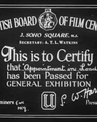Main title from Appointment in London (1953) (1)