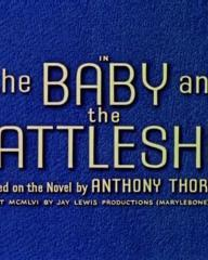 Main title from The Baby and the Battleship (1956) (4). Based on the novel by Anthony Thorne