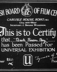 Main title from Back-Room Boy (1942) (1)