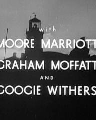 Main title from Back-Room Boy (1942) (5).  With Moore Marriott Graham Moffatt and Googie Withers