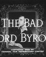 Main title from The Bad Lord Byron (1948)