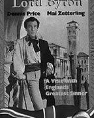 Dennis Price (as Lord Byron) in a video cover from The Bad Lord Byron (1948) (1)