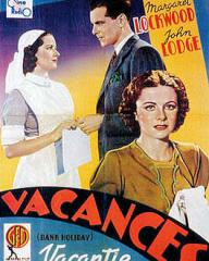Belgian poster for Bank Holiday (1938) (1)