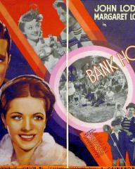 John Lodge and Margaret Lockwood (as Catherine Lawrence) in a poster for Bank Holiday (1938) (3)