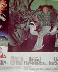 Lobby card from Barbarella (1968) (4)
