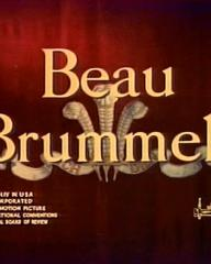 Main title from Beau Brummell (1954)