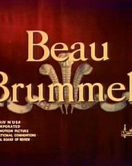 Main title from Beau Brummell (1954)