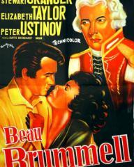 Yugoslav poster for Beau Brummell (1954) (2)