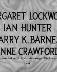 Main title from Bedelia (1946) (2). Margaret Lockwood, Ian Hunter, Barry K Barnes, Anne Crawford (by arrangement with Gainsborough Pictures 1928 Ltd) in