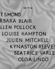 Main title from Bedelia (1946) (4). With Jill Esmond, Barbara Blair, Ellen Pollock, Louise Hampton, Julien Mitchell, Kynaston Reeves