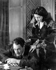 Ian Hunter (as Charlie Carrington) and Margaret Lockwood (as Bedelia Carrington) in a photograph from Bedelia (1946) (19)