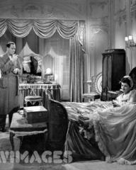 Ian Hunter (as Charlie Carrington) and Margaret Lockwood (as Bedelia Carrington) in a photograph from Bedelia (1946) (21)