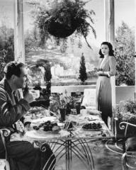 Ian Hunter (as Charlie Carrington) and Margaret Lockwood (as Bedelia Carrington) in a photograph from Bedelia (1946) (30)