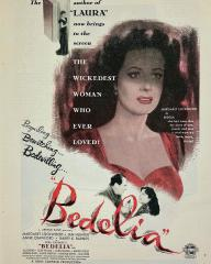 Poster for Bedelia (1946) (4)