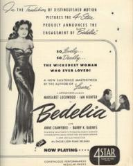 Poster for Bedelia (1946) (9)