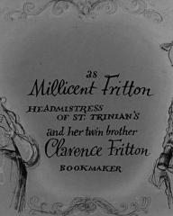 Main title from The Belles of St Trinian's (1954) (5)