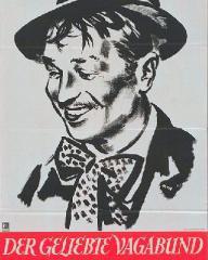 German The Beloved Vagabond poster
