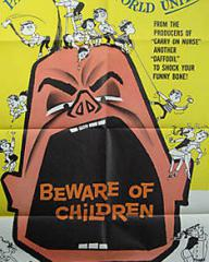 American poster for Beware of Children [No Kidding] (1960) (1)