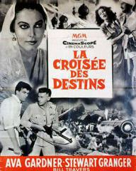French poster for Bhowani Junction (1956) (2)