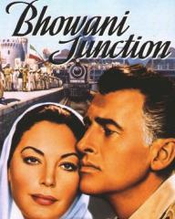 Ava Gardner (as Victoria Jones) and Stewart Granger (as Col Rodney Savage) in a video cover from Bhowani Junction (1956) (1)