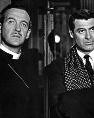 Photograph from The Bishop's Wife (1947) featuring David Niven as Henry Brougham and Cary Grant as Dudley (1)