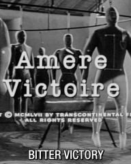 Main title from Bitter Victory (1957) (7). Amère Victoire