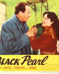 Lobby card from The Black Pearl [Bedelia] (1946) (1). Ian Hunter, Margaret Lockwood