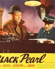 Lobby card from The Black Pearl [Bedelia] (1946) (4). Barry K Barnes