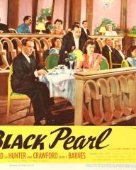 Lobby card from The Black Pearl [Bedelia] (1946) (6). Barry K Barnes, Ian Hunter, Margaret Lockwood