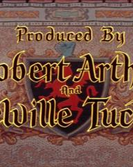 Main title from The Black Shield of Falworth (1954) (17). Produced by Robert Arthur and Melville Tucker