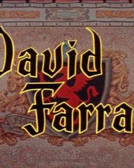 Main title from The Black Shield of Falworth (1954) (7). David Farrar