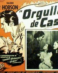 Mexican lobby card from Blanche Fury (1948) (1)
