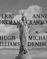 Main title from The Blind Goddess (1948) (3). Eric Portman, Anne Crawford, Hugh Williams, Michael Denison