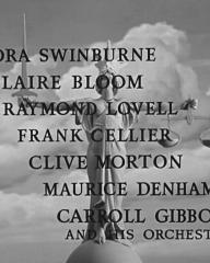 Main title from The Blind Goddess (1948) (5). Nora Swinburne, Claire Bloom, Raymond Lovell, Frank Cellier, Clive Morton, Maurice Denham