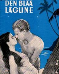 Danish poster for The Blue Lagoon (1949) (1)