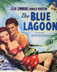 Poster for The Blue Lagoon (1949) (2)