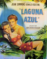 Spanish poster for The Blue Lagoon (1949) (1)