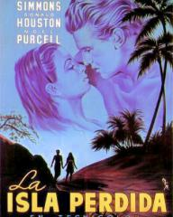 Spanish poster for The Blue Lagoon (1949) (2)