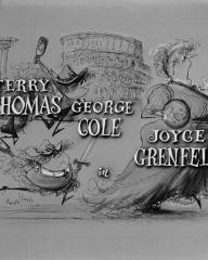 Main title from Blue Murder at St. Trinian's (1957) (3). Terry-Thomas, George Cole, Joyce Grenfell