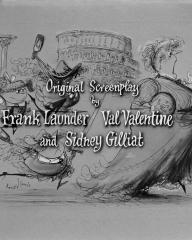 Main title from Blue Murder at St. Trinian's (1957) (8)