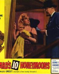 Lobby card from Bluebeard's Ten Honeymoons (1960) (1)