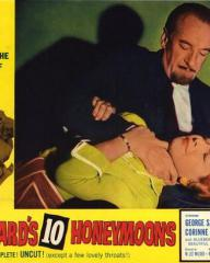 Lobby card from Bluebeard's Ten Honeymoons (1960) (2)