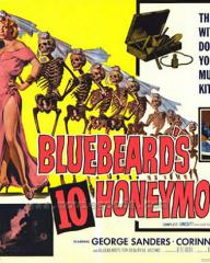 Lobby card from Bluebeard's Ten Honeymoons (1960) (4)