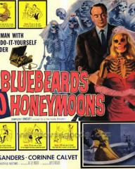 Lobby card from Bluebeard's Ten Honeymoons (1960) (5)